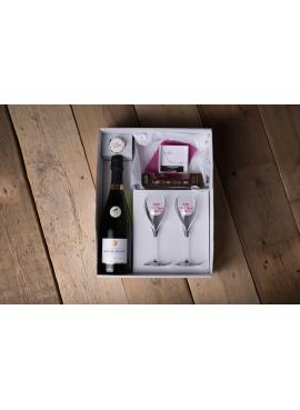 coffret cadeau saint valentin femme champagne pas chere