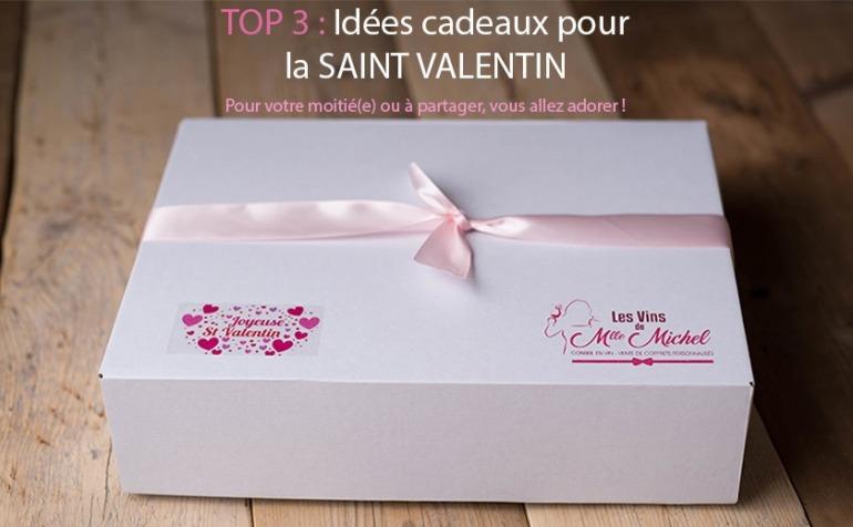 TOP 3 : IDÉES CADEAUX SAINT VALENTIN