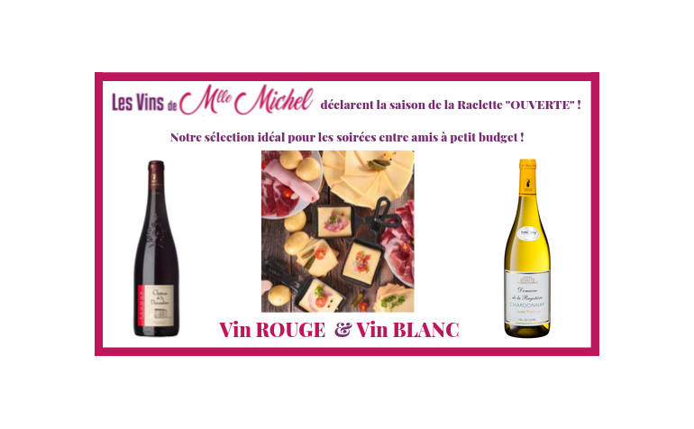 Quels vins servir avec une raclette ?