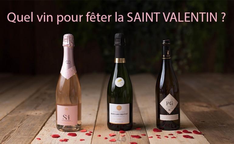 Quels vins pour la SAINT VALENTIN ?
