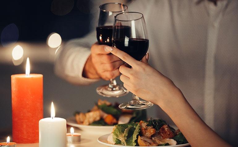 Top 5 des meilleurs vins pour la Saint-Valentin